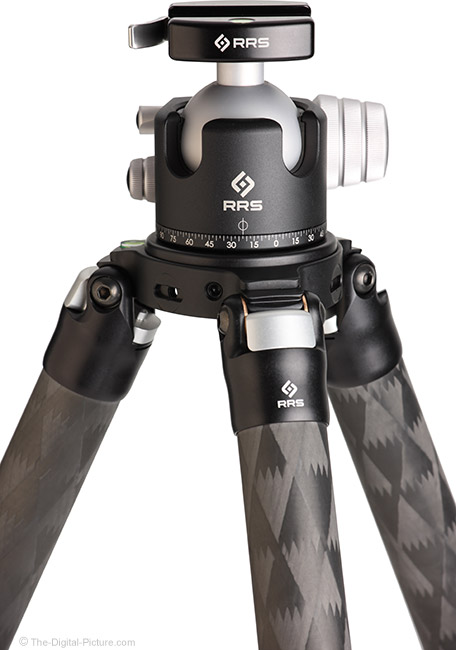 Really Right Stuff TVC-34/34L, TFC-34/34L Mk2 Tripod with BH-55 Ball Head
