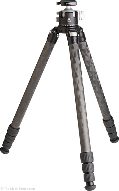 Really Right Stuff TVC-34/34L, TFC-34/34L Mk2 Tripod with Head