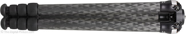 Really Right Stuff TVC-24/24L Series 2 Carbon Fiber Tripod Folded