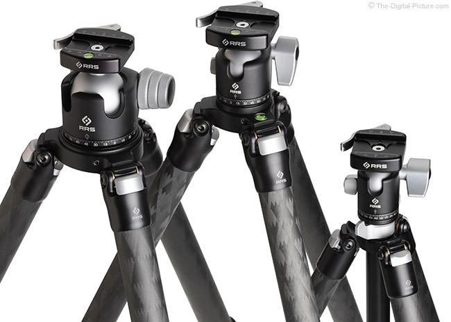 Really Right Stuff Tripod Comparison