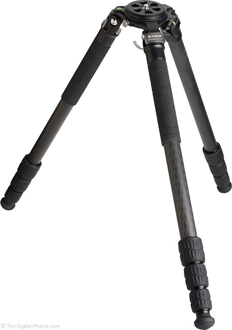 Robus RC-5570 Vantage Carbon Fiber Tripod Independent Leg Spread