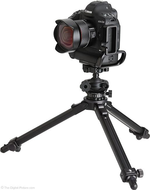 Rokinon AF 14mm f/2.8 Lens on Tripod
