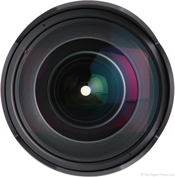 Samyang 14mm f/2.8 Lens Front View