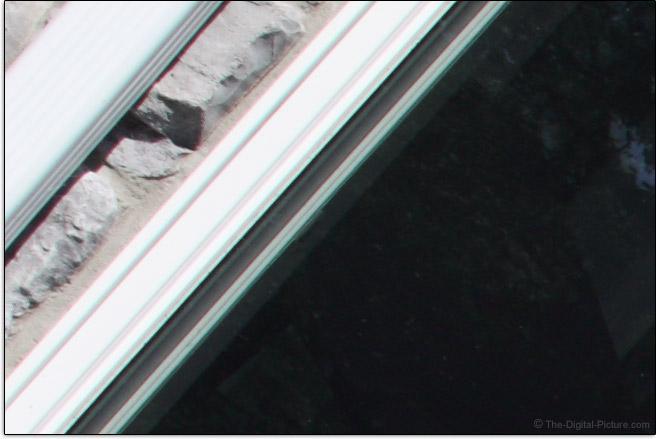 Samyang 16mm f/2 Lens Chromatic Aberration Example