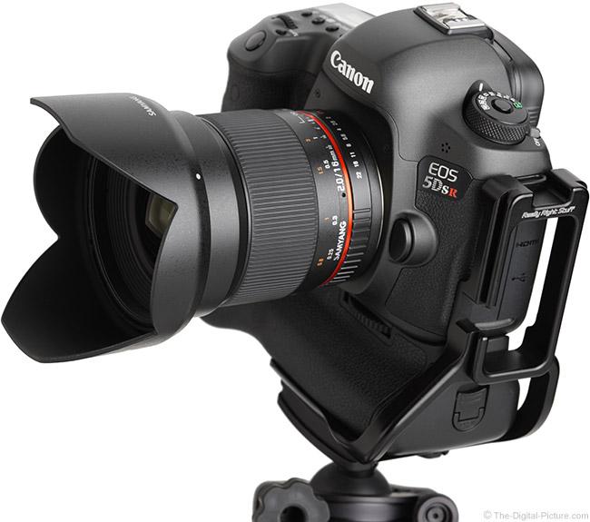 Samyang 16mm f/2 Lens Angle View with Hood