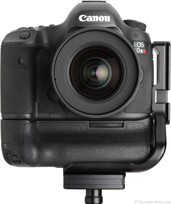 Samyang 16mm f/2 Lens Front View on Camera