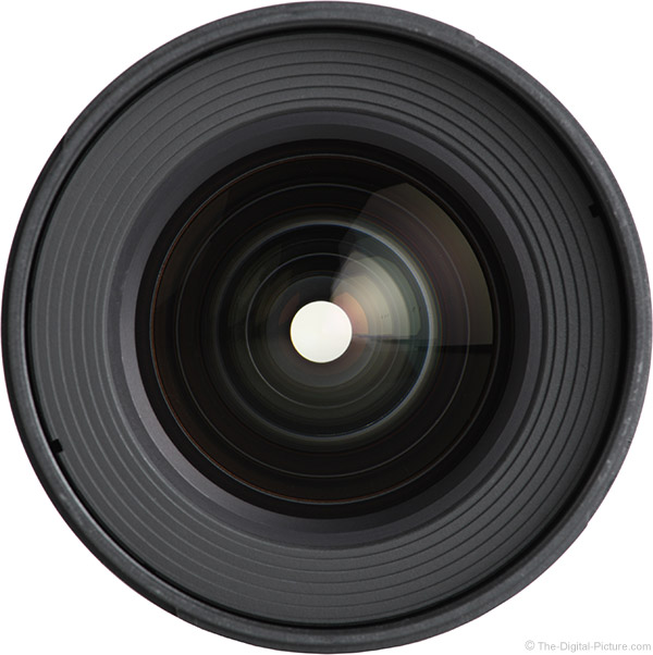 Samyang 16mm f/2 Lens Front View