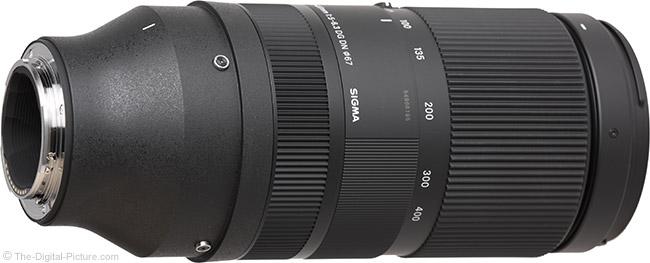 Sigma 100-400mm f/5-6.3 DG DN OS Contemporary Lens Mount