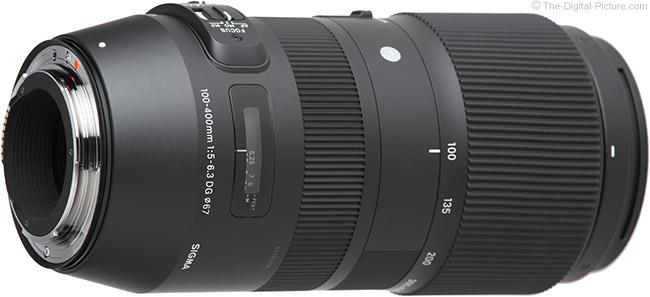 Sigma 100-400mm f/5-6.3 DG OS HSM C Lens Mount