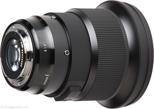 Sigma 105mm f/1.4 DG HSM Art Lens Mount