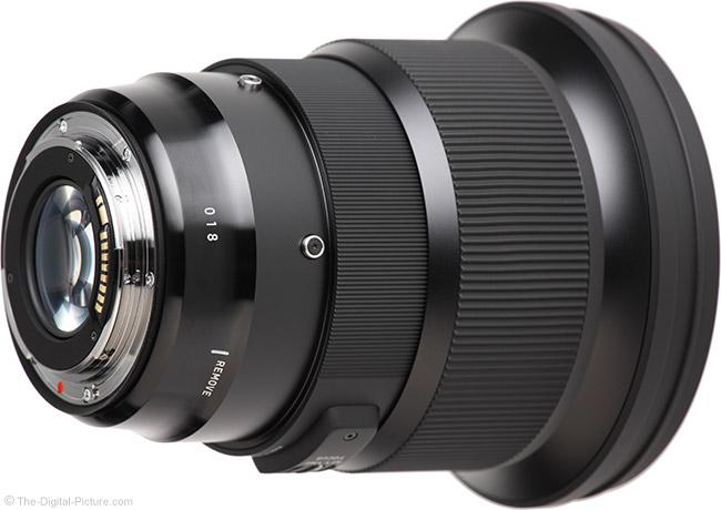 Sigma 105mm f/1.4 DG HSM Art Lens Mount