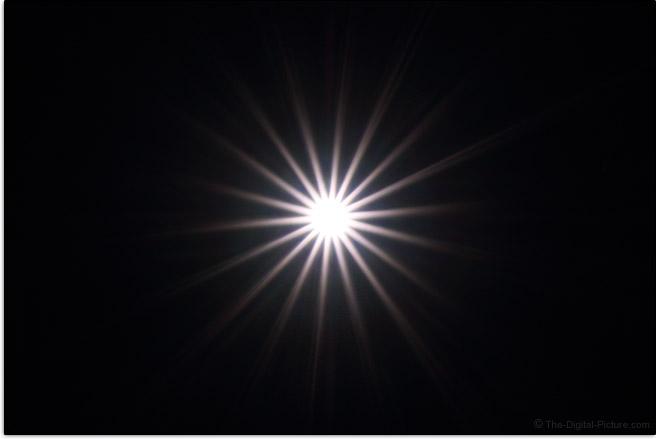 Sigma 105mm f/1.4 DG HSM Art Lens Starburst Effect Example