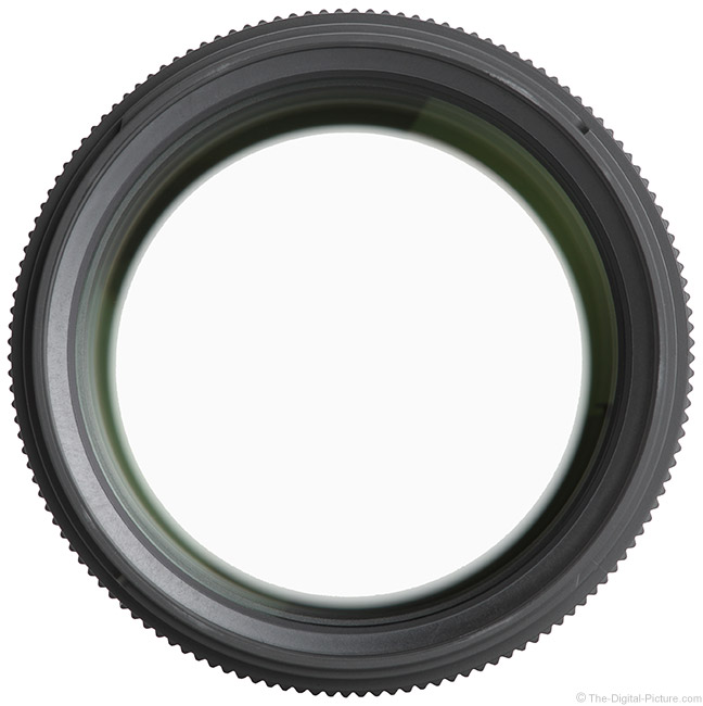 Sigma 135mm f/1.8 DG HSM Art Lens Front View