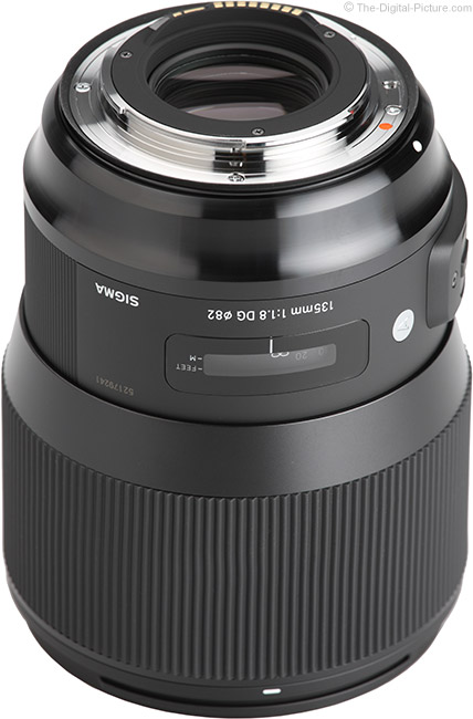 Sigma 135mm f/1.8 DG HSM Art Lens Mount
