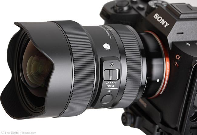 Sigma 14-24mm f/2.8 DG DN Art Lens Angle View
