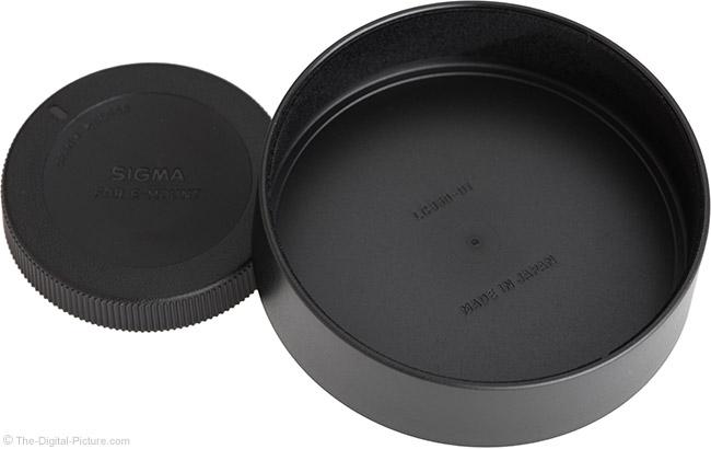 Sigma 14-24mm f/2.8 DG DN Art Lens Cap Inside