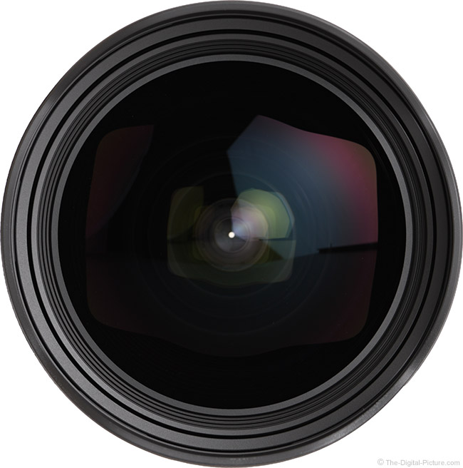 Sigma 14-24mm f/2.8 DG DN Art Lens Front View