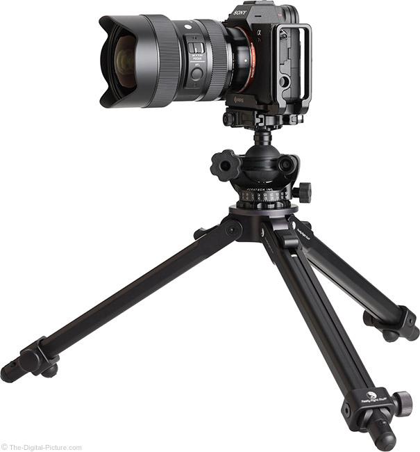 Sigma 14-24mm f/2.8 DG DN Art Lens on Tripod