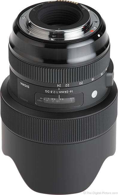 Sigma 14-24mm f/2.8 DG HSM Art Lens Mount