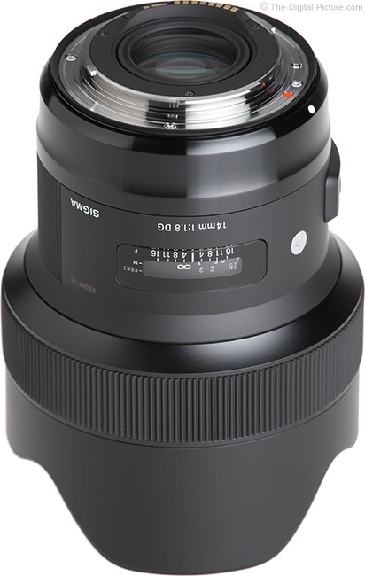 Sigma 14mm f/1.8 Art Lens Mount