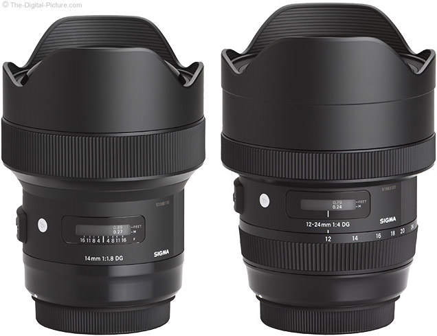 Sigma 14mm and 12-24mm Art Lens Comparison