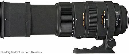 Sigma 150-500mm f/5-6.3 DG OS HSM Lens Extended