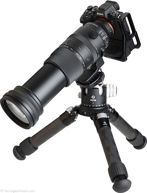 Sigma 150-600mm f/5-6.3 DG DN OS Sports Lens Angle Extended View