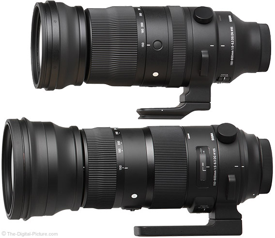 Sigma 150-600mm f/5-6.3 DG DN and HSM OS Sports Lens Comparison