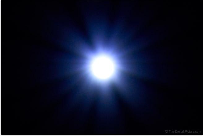 Sigma 150-600mm f/5-6.3 DG DN OS Sports Lens Sunstar Effect Example