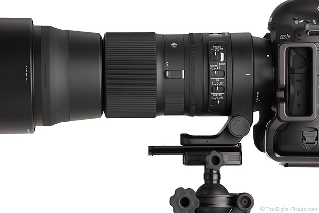 Sigma 150-600mm OS Contemporary Lens Switches