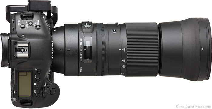 Sigma 150-600mm F5-6.3 DG OS HSM Contemporary Lens