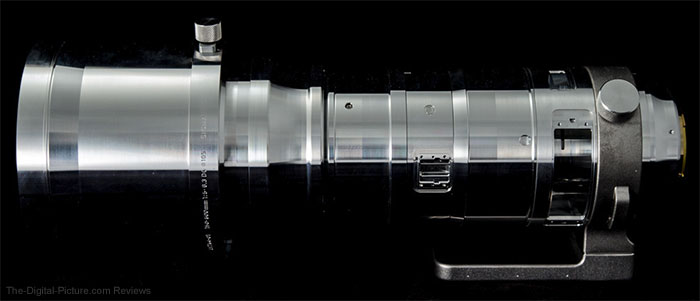 Sigma 150-600mm f/5-6.3 DG OS HSM Sports Lens Aluminum Alloy Frame
