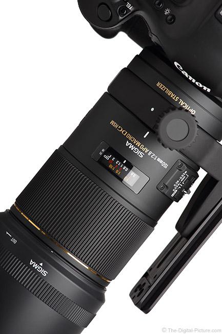 Sigma 150mm f/2.8 EX DG OS HSM Macro Lens Art View
