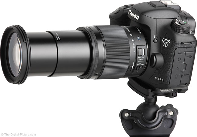 Sigma 18-300mm f/3.5-6.3 DC OS HSM Contemporary Lens – Angle View Extended