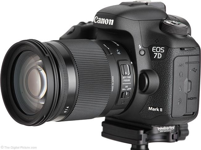 Sigma 18-300mm f/3.5-6.3 DC OS HSM Contemporary Lens – Angle View