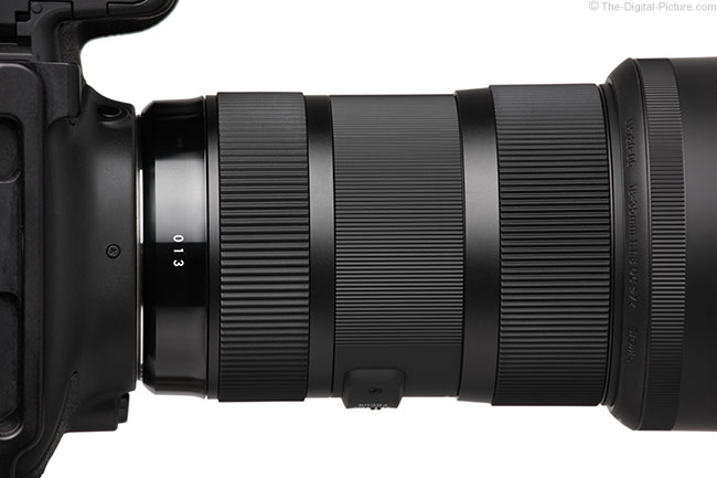 Sigma 18-35mm f/1.8 DC HSM Art Lens Bottom View