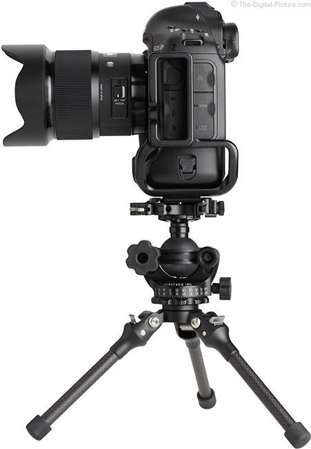 Sigma 20mm f/1.4 DG HSM Art Lens on Tripod