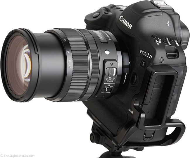 Sigma 24-70mm f/2.8 OS Art Lens Angle Extended View