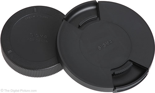 Sigma 24-70mm f/2.8 OS Art Lens Cap