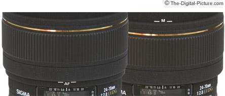Sigma 24-70mm f/2.8 Lens Dual Focus System