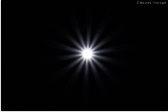 Sigma 24mm f/3.5 DG DN Contemporary Lens Sunstar Effect Example