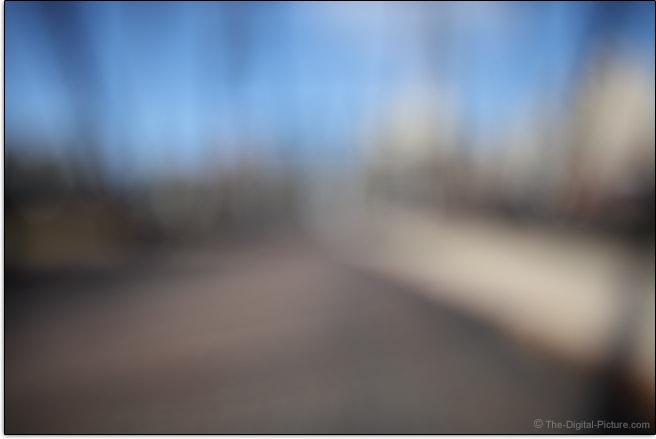 Sigma 28mm f/1.4 DG HSM Art Lens Maximum Blur Example