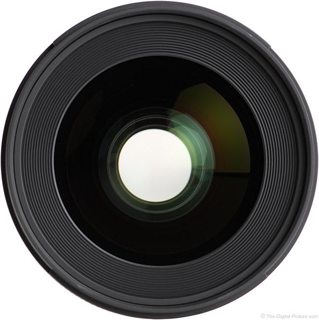 Sigma 28mm f/1.4 DG HSM Art Lens Front View