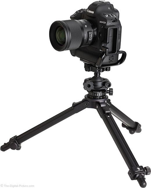 Sigma 28mm f/1.4 DG HSM Art Lens on Tripod