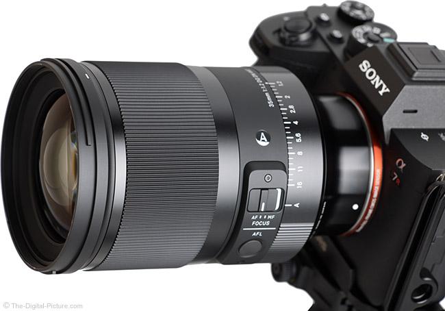 Sigma 35mm f/1.2 DG DN Art Lens Angle View