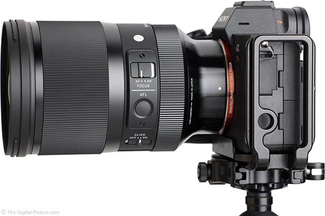 Sigma 35mm f/1.2 DG DN Art Lens Side View