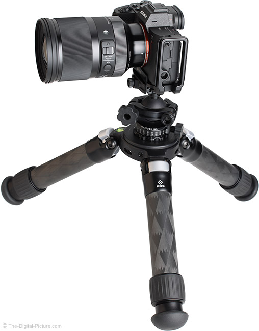Sigma 35mm f/1.2 DG DN Art Lens on Tripod