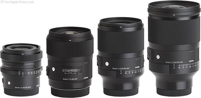 Sigma 35mm Lenses