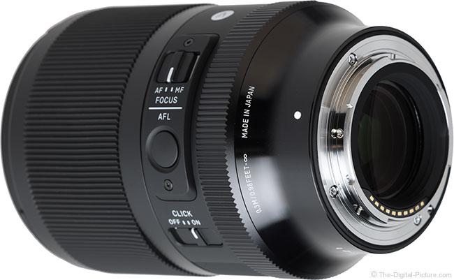 Sigma 35mm f/1.4 DG DN Art Lens Mount