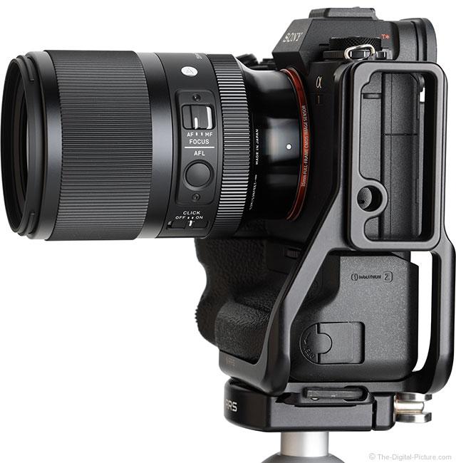 Sigma 35mm f/1.4 DG DN Art Lens Side View